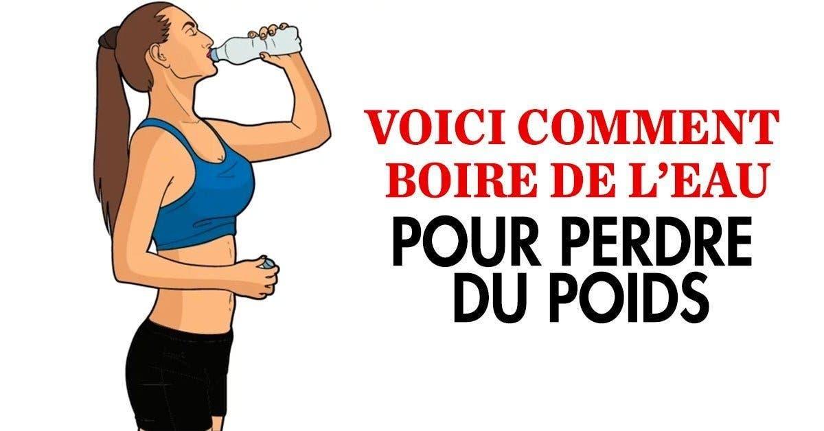 Voici comment boire de leau pour perdre du poids 1 1 1