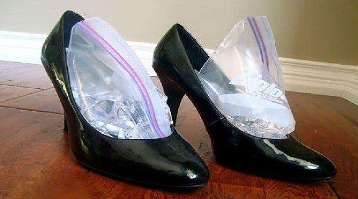 Voici comment élargir des chaussures trop petites