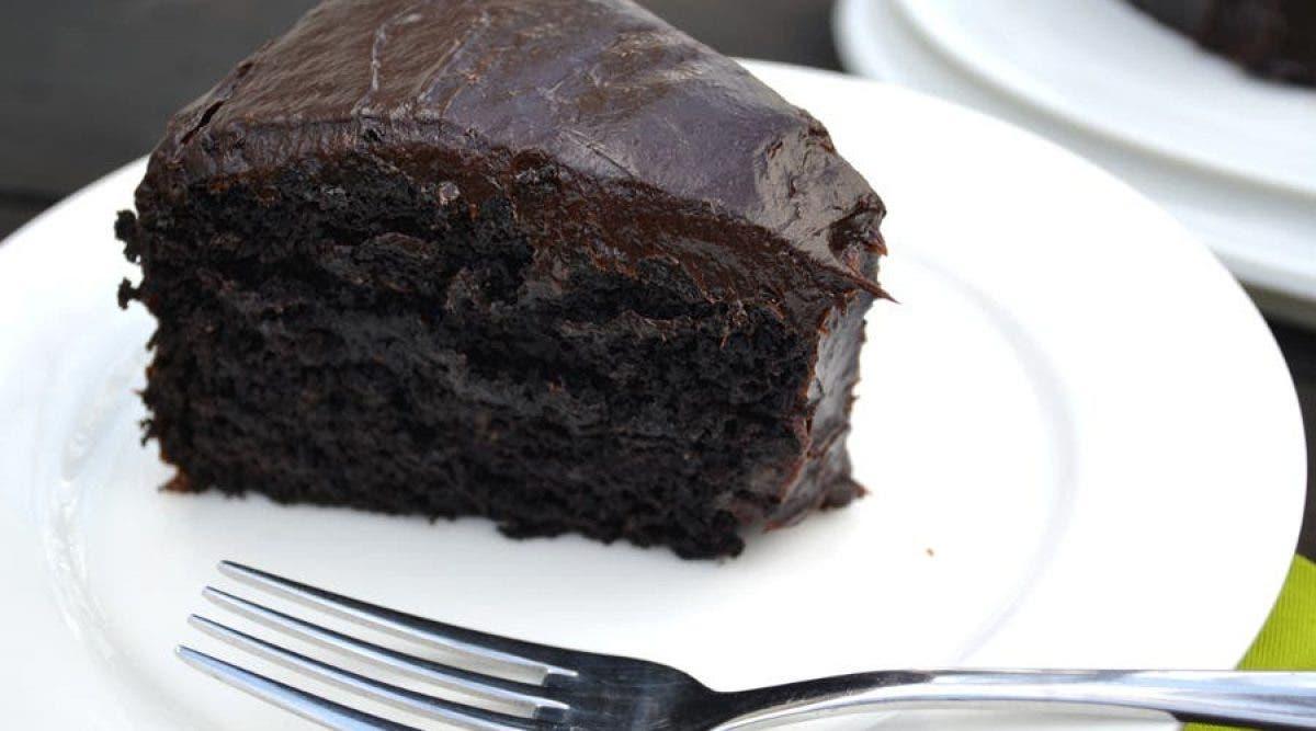 délicieux gâteau au chocolat