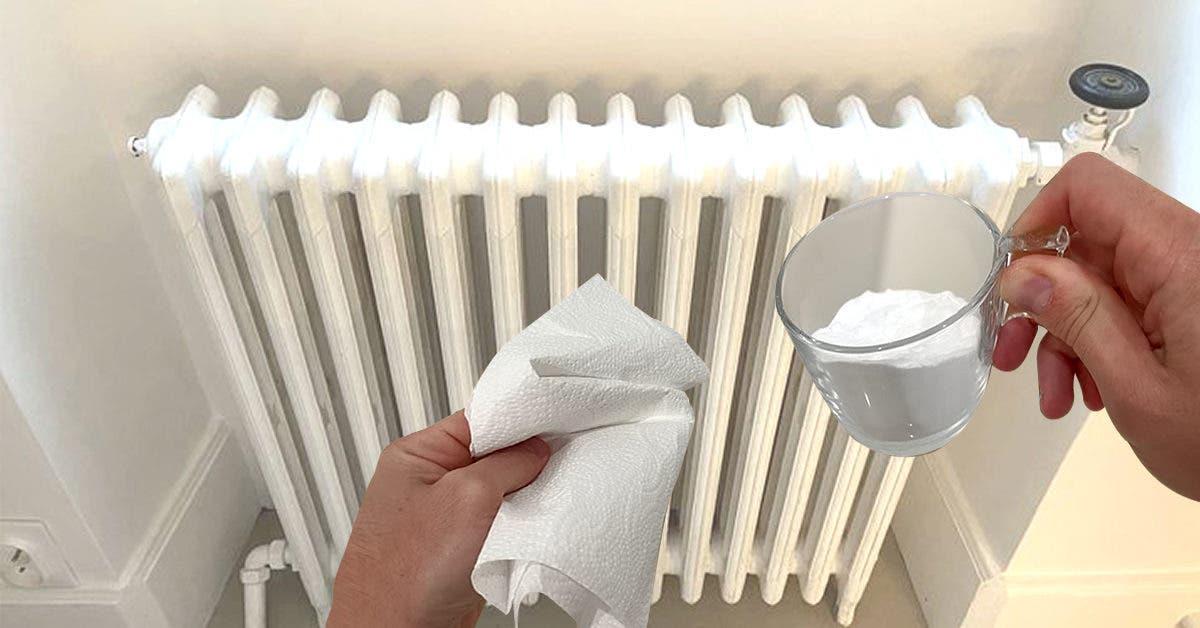 Voici comment nettoyer les radiateurs avant l'hiver sans faire aucune poussière