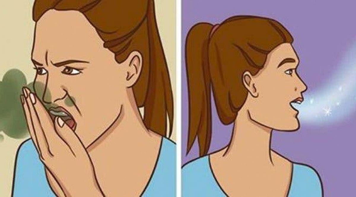 Voici comment se débarrasser de la mauvaise haleine naturellement