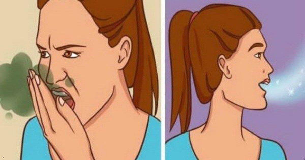 Voici comment supprimer la mauvaise haleine en 5 minutes avec du citron et du bicarbonate de soude