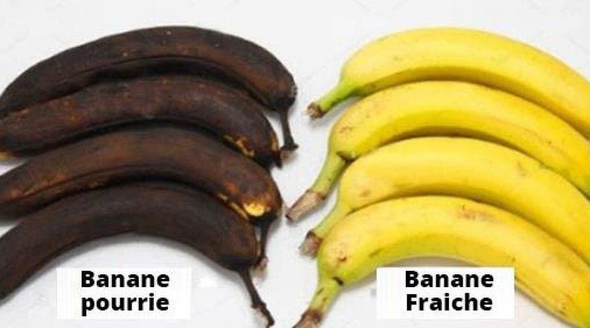 Voici comment transformer des bananes trop mures en banane fraiche
