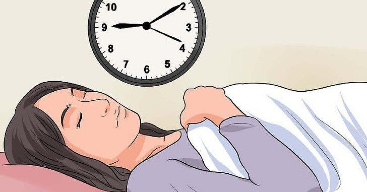 Voici comment vous endormir profondément en seulement 30 secondes