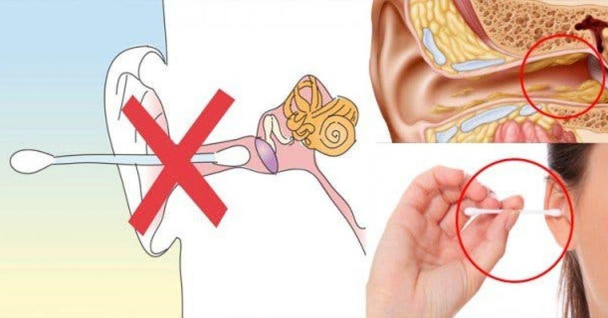 Voici la bonne façon d'enlever le cérumen de vos oreilles