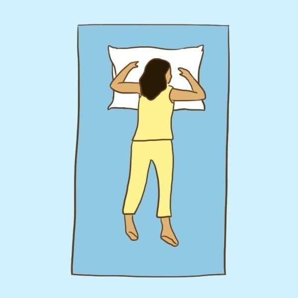 Voici la bonne position pour dormir pour soigner 9 problèmes de santé
