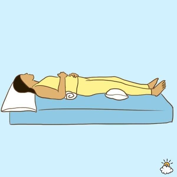 Voici la bonne position pour résoudre des problèmes de santé en dormant