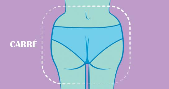 Voici la culotte a porter selon la forme de vos fesses 1 1