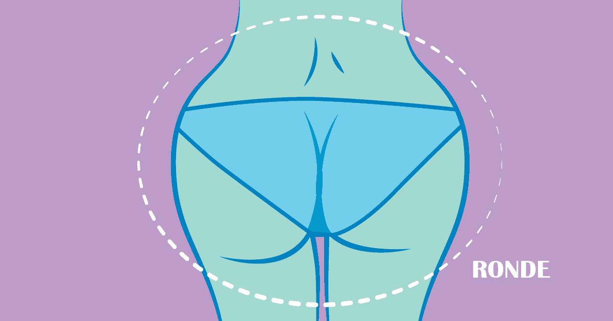 Voici la culotte a porter selon la forme de vos fesses 3 1