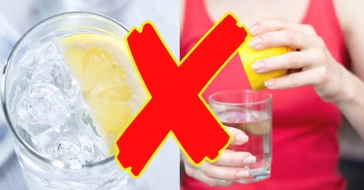 Voici la seule bonne facon de boire de leau au citron 1 1