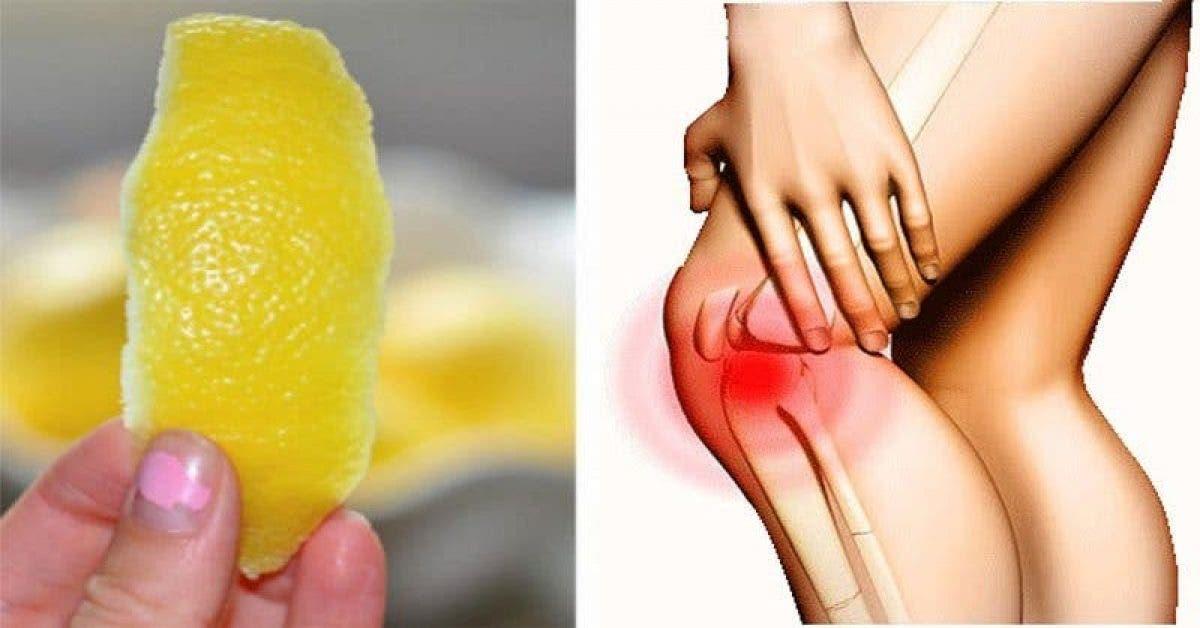Voici l'astuce au citron pour se débarrasser de l'inflammation et la douleur chronique