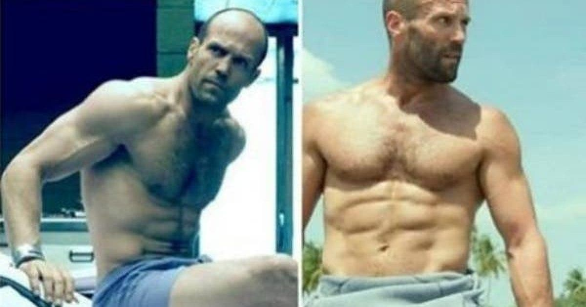 Voici le menu de Jason Statham pour garder ses abdos 1