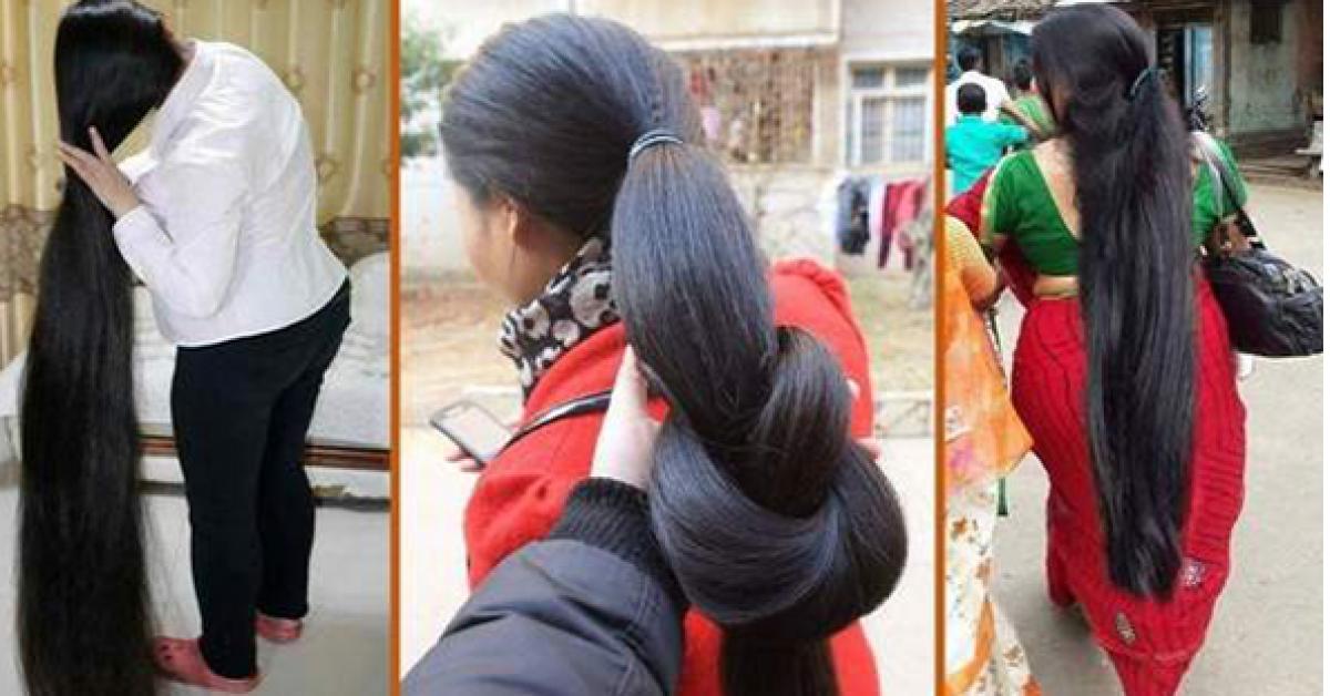 Voici le secret des femmes qui ont des cheveux longs et épais