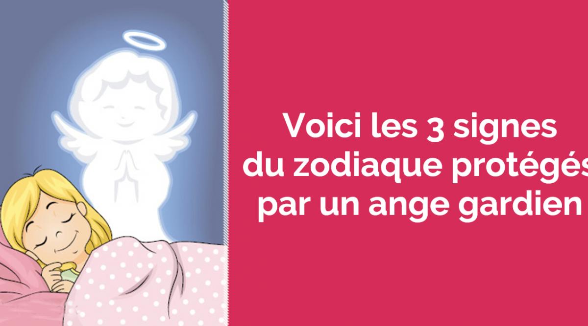Voici les 3 signes du zodiaque protégés par un ange gardien