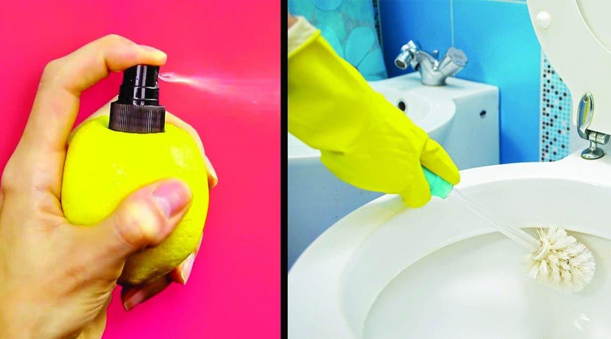 manières de rendre votre salle de bain toute neuve avec du jus de citron
