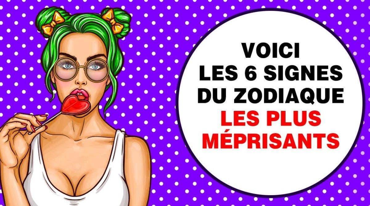 signes du zodiaque les plus méprisants et snobs de tous
