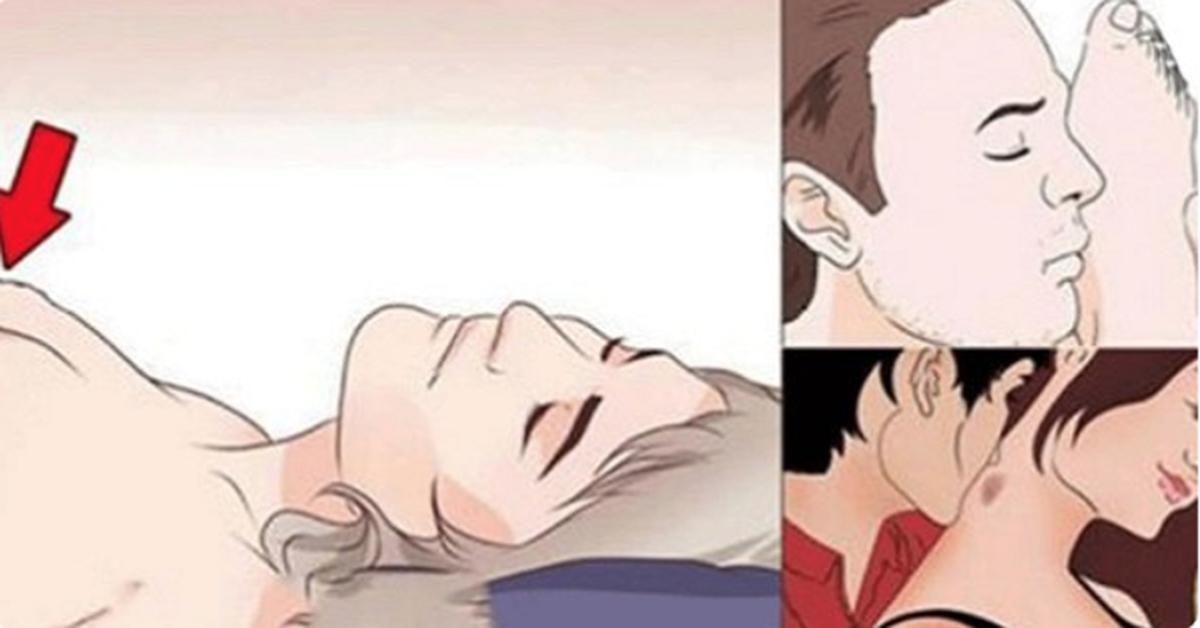 Voici les 7 parties du corps qui procurent un plaisir immense