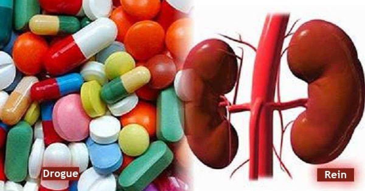 Voici les 8 medicaments qui peuvent endommager vos reins 1