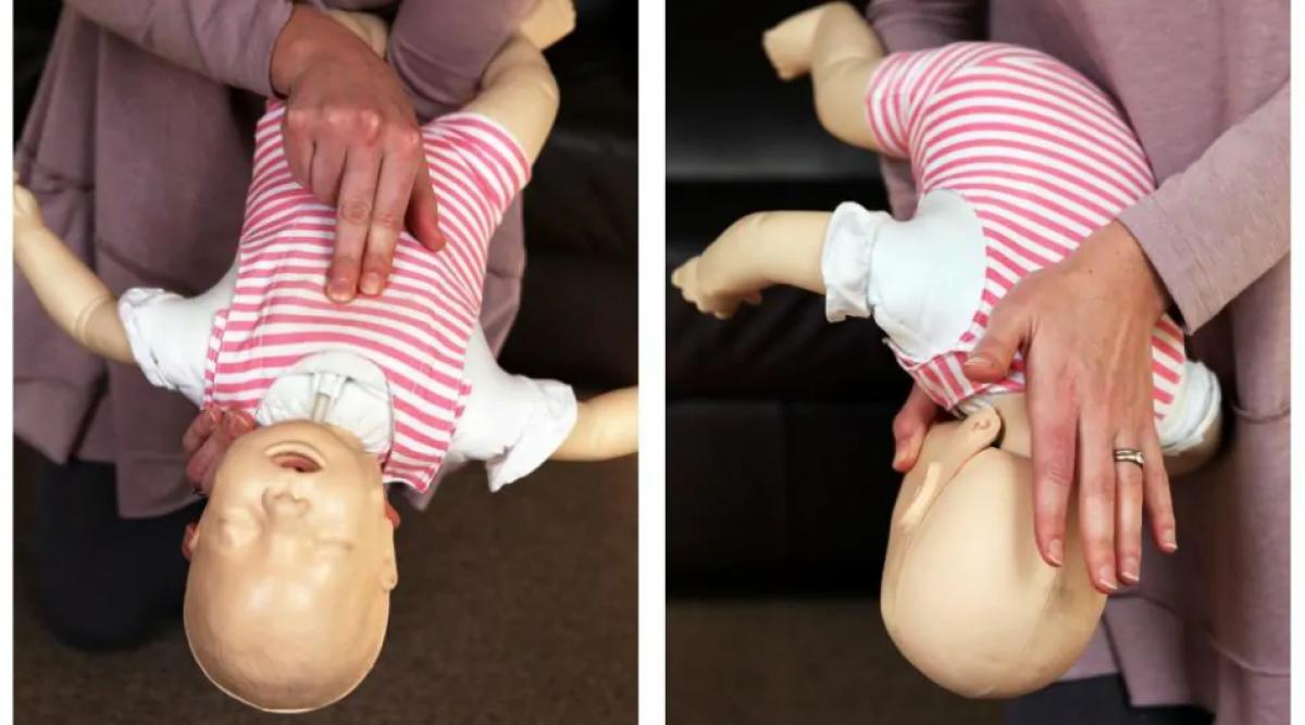 Voici les gestes à adopter pour sauver la vie d'un bébé