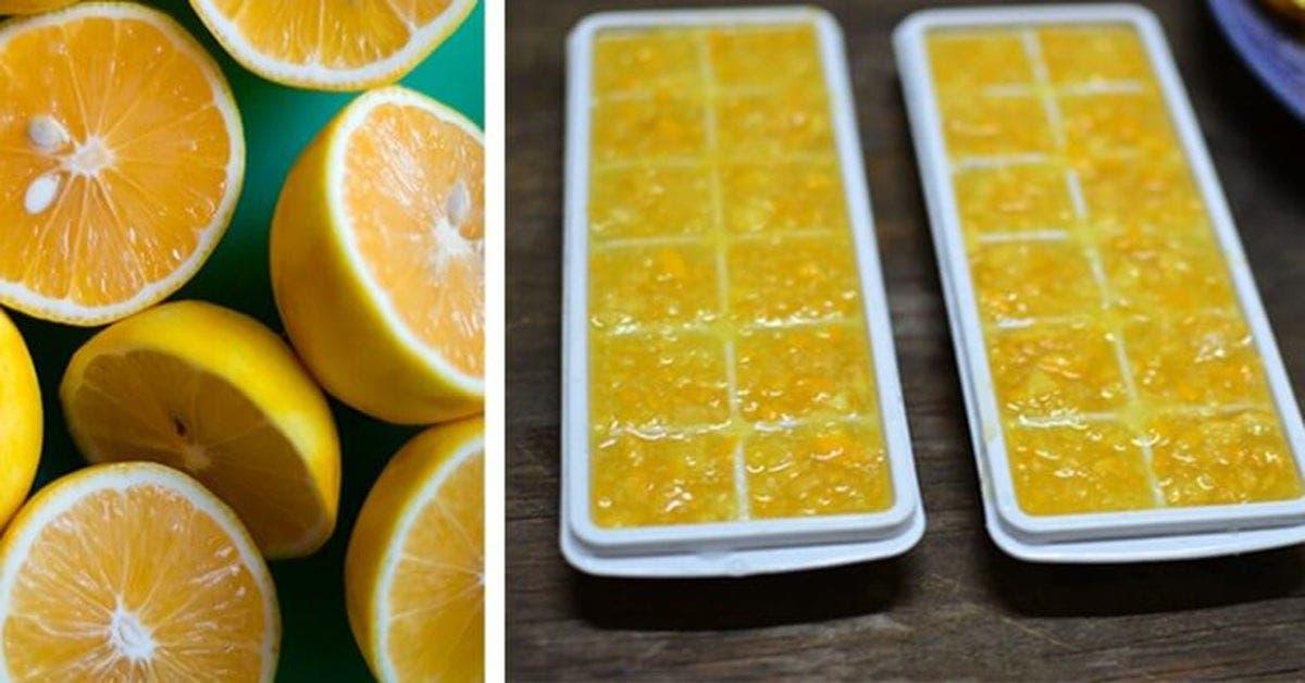 Consommez du citron glacé et vous n'aurez plus besoin de médicaments de toute votre vie