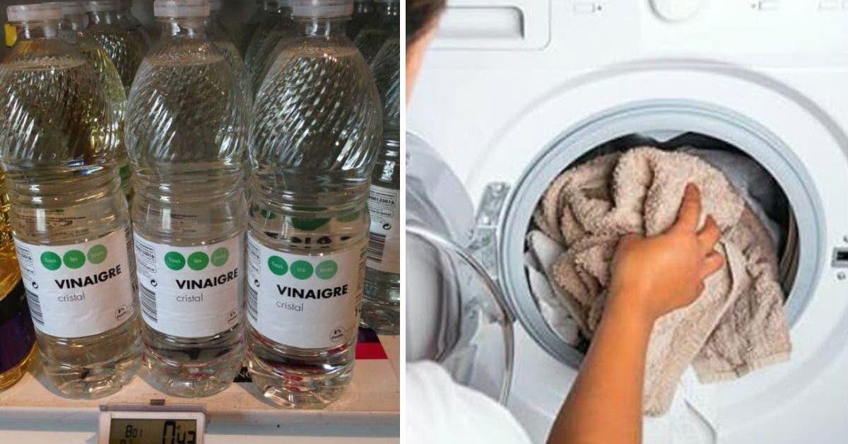 vinaigre lavage