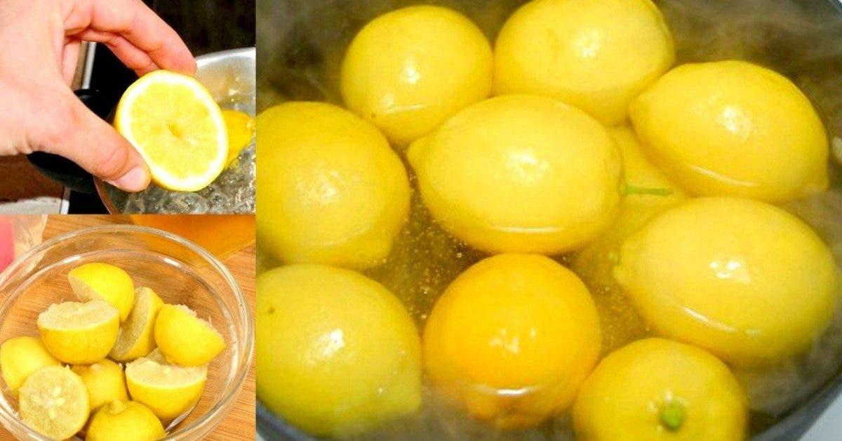 Son médecin lui demande de bouillir des citrons et du..