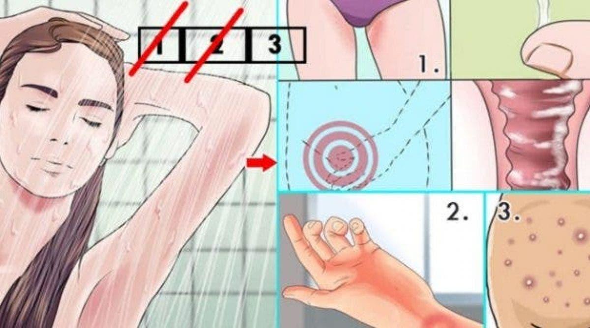 Voilà ce qui arrive à votre corps si vous ne prenez pas de douche pendant seulement 2 jours