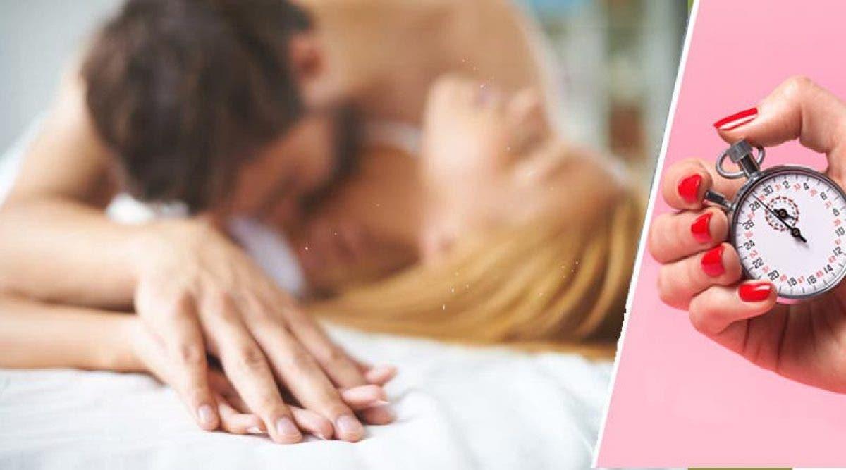 Voilà combien dure un rapport sexuel pour la majorité des couples