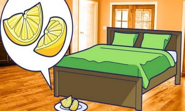 Voilà pourquoi vous devez mettre chaque soir deux tranches de citron à côté de votre lit