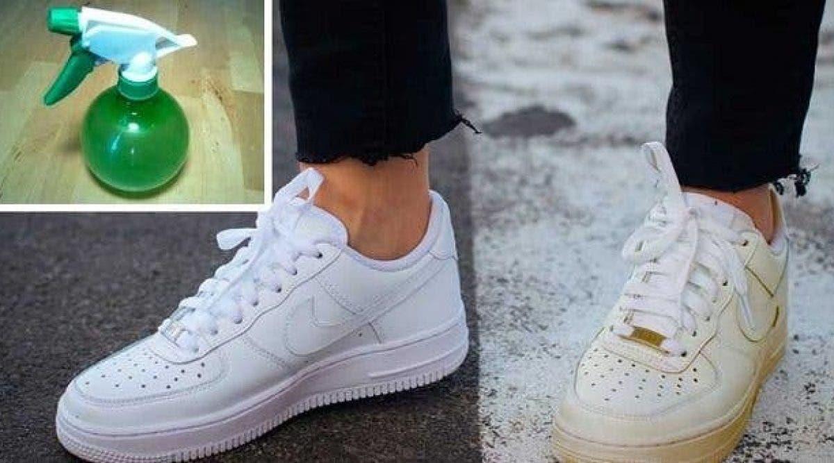 Vos chaussures retrouveront leur blancheur avec cette astuce simple