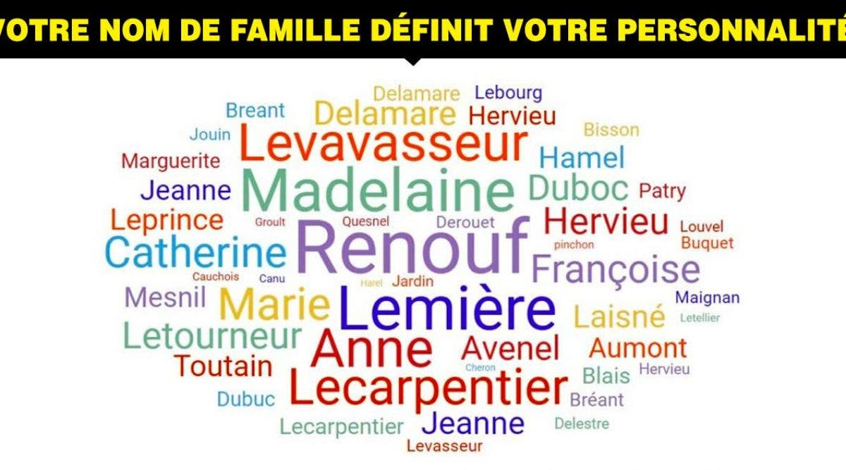 nom de famille