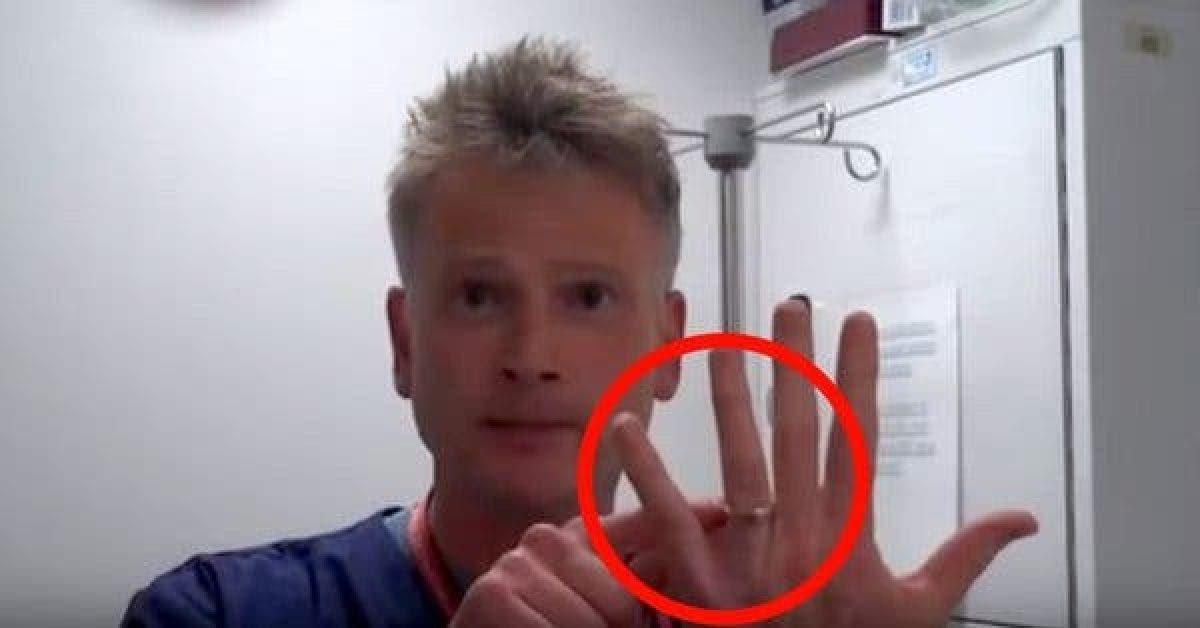 Vous avez une bague coincée au doigt ? Avec l'astuce de ce médecin, plus besoin de vous inquiéter !
