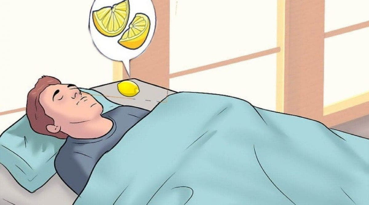 Vous devriez mettre des tranches de citron dans votre chambre à coucher