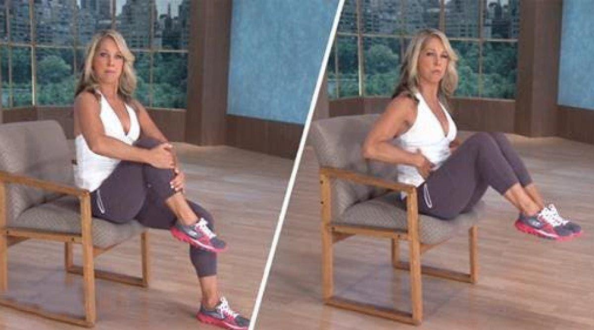 Vous pouvez faire maintenant ces 6 exercices sur une chaise
