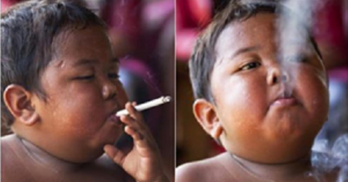Vous souvenez vous de ce garcon qui fumait 40 cigarettes par jour Regardez ce quil est devenu 8 ans plus tard 1