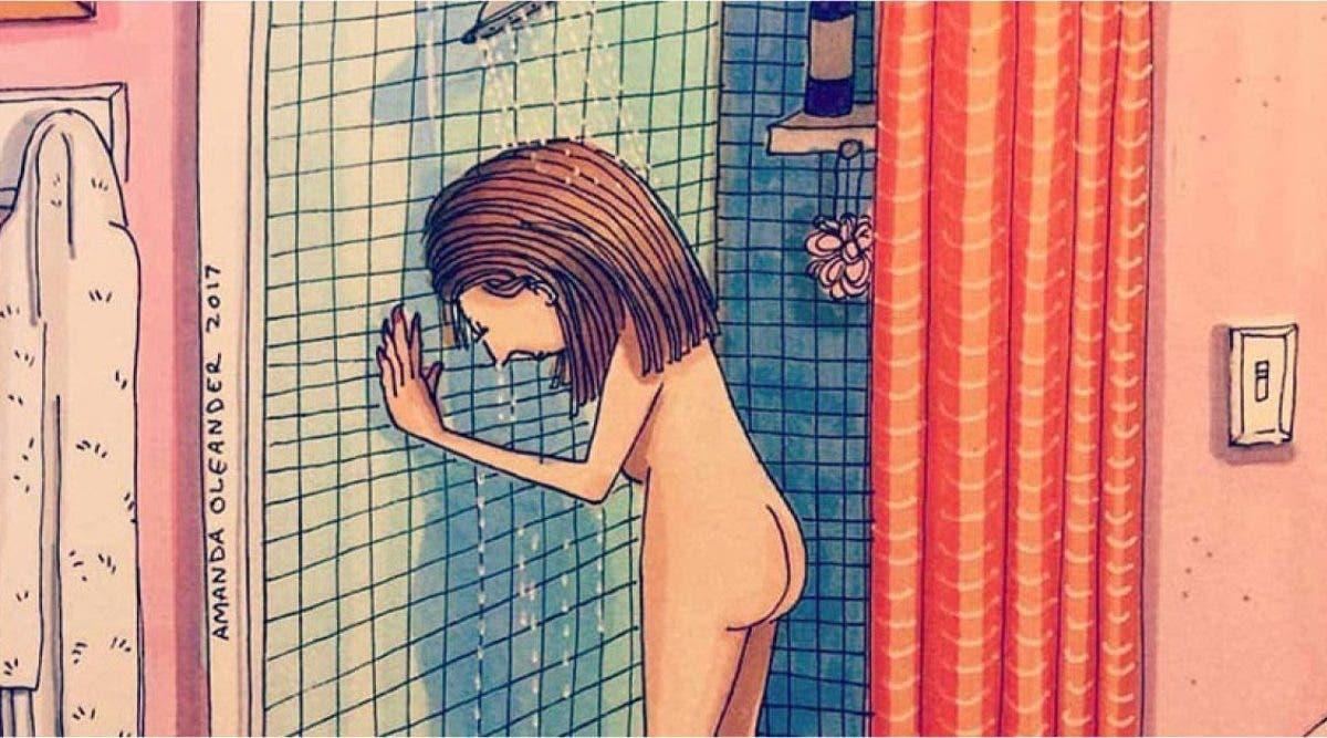 À toutes les mamans fatiguées qui se cachent quelques minutes dans la salle de bain pour pleurer