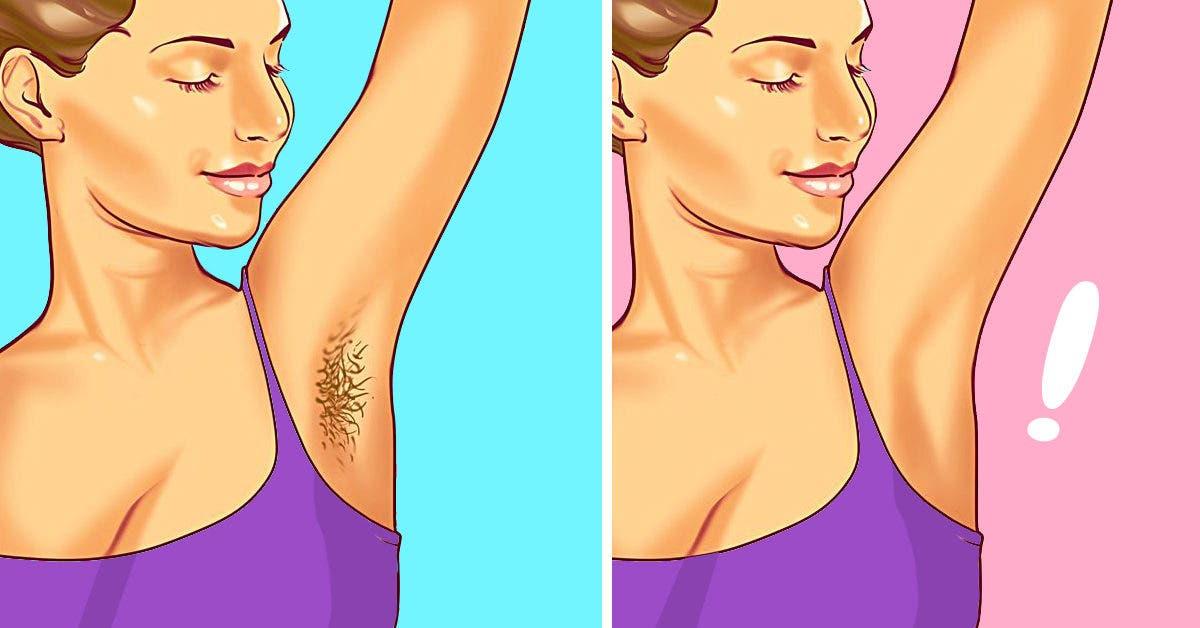5 façons d'avoir des aisselles douces et soyeuses sans les raser