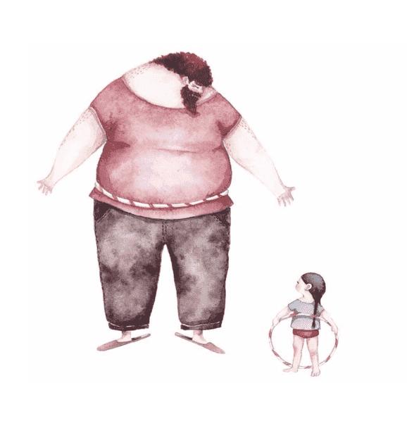 l'amour entre les papas et leurs petites filles