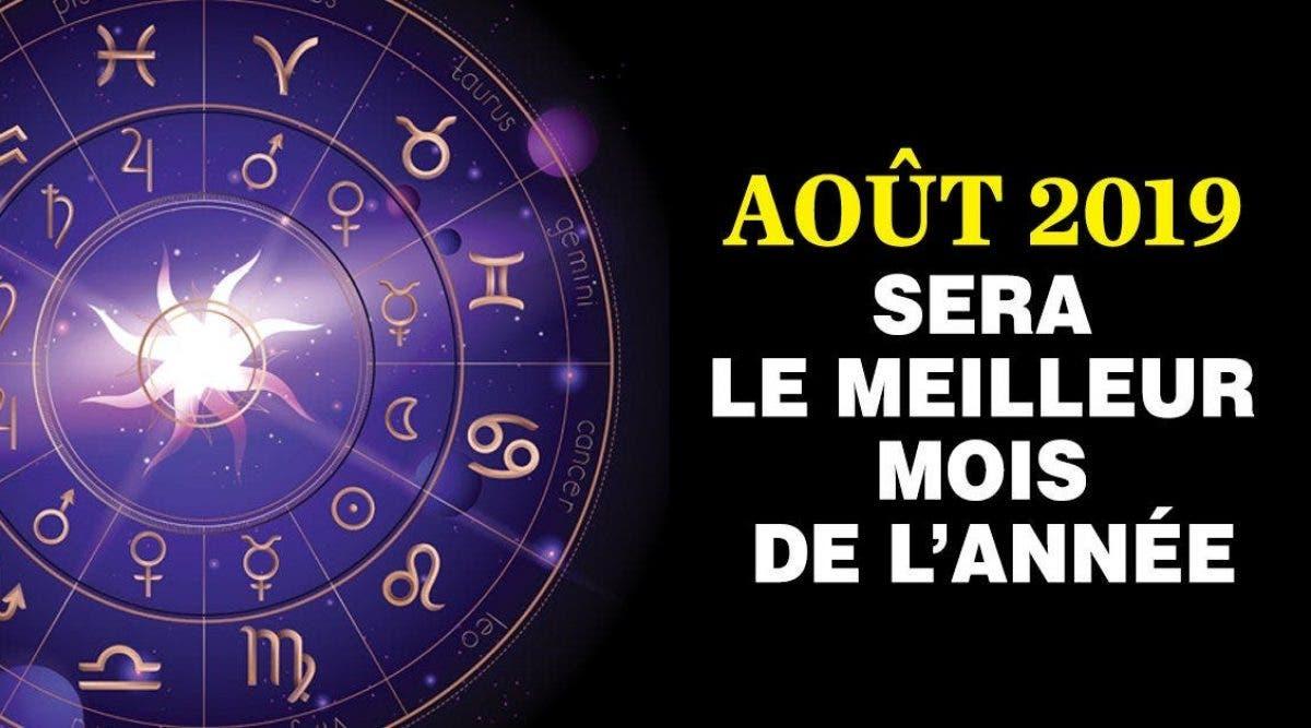 Astrologie : Août 2019