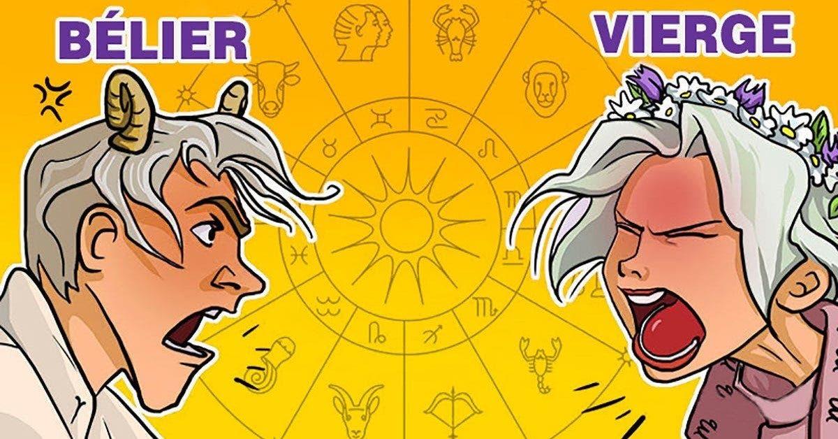 astrologie 6 couples du zodiaque incompatibles qui ne doivent pas etre en relation 1 1