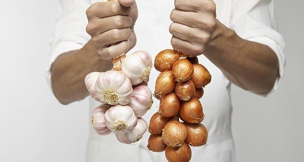 Astuce pour conserver l oignon et l ail pendant plusieurs mois - Comment conserver les oignons ...