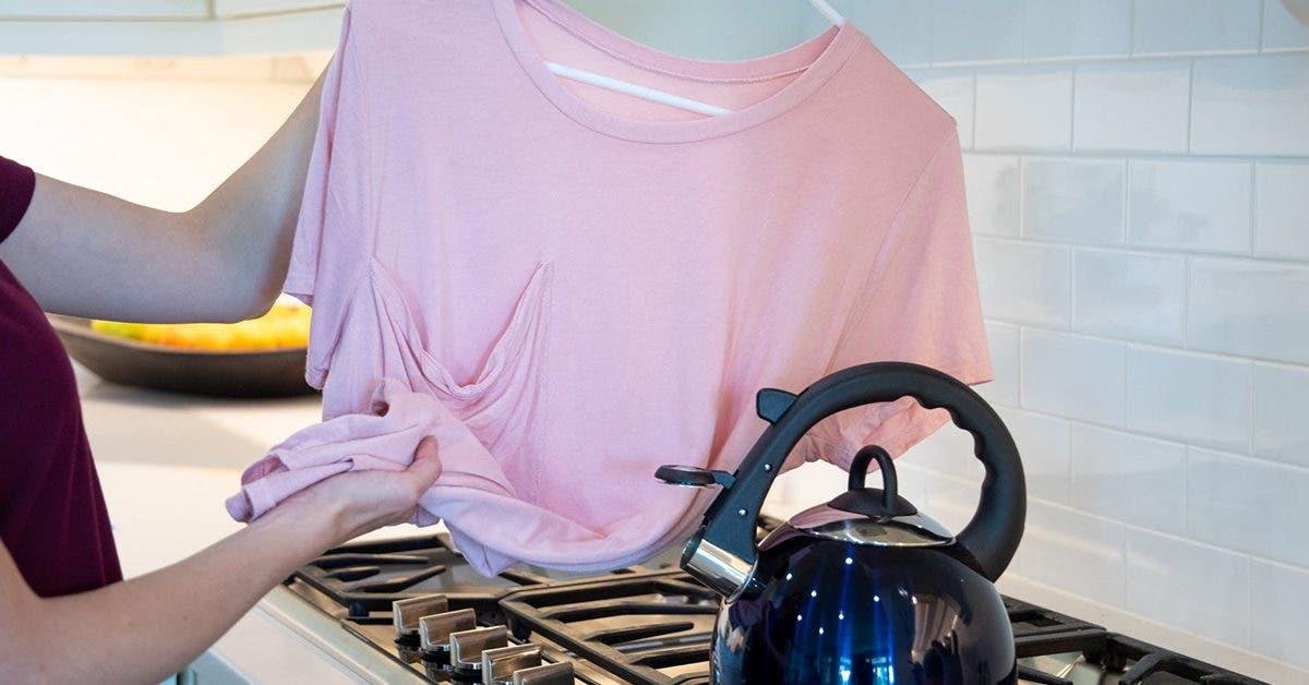 7 astuces pour enlever les plis et défroisser les vêtements sans utiliser le fer à repasser
