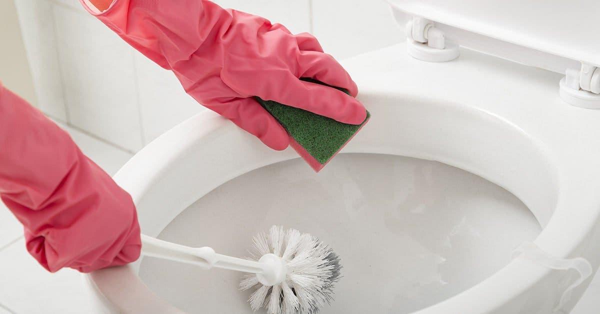 5 astuces simples de retirer le tartre des toilettes sans utiliser de bicarbonate de soude
