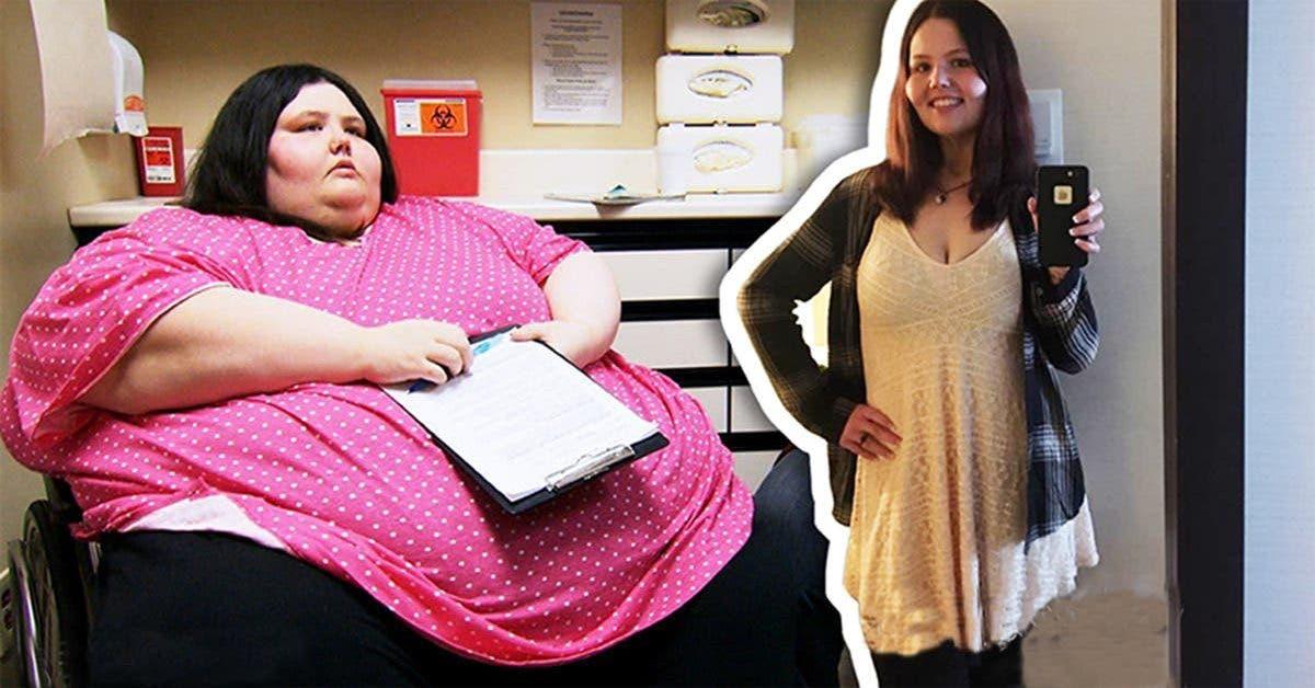 avec 320 kg je ne sortais plus de la maison la transformation de cette jeune femme obese est exceptionelle 1