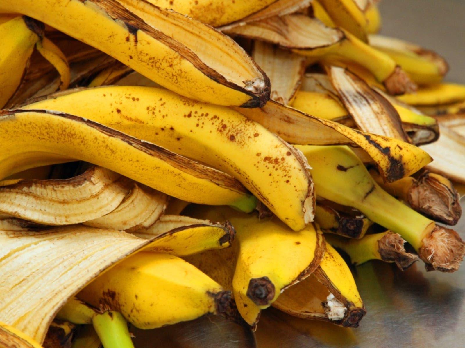 Pelures de bananes