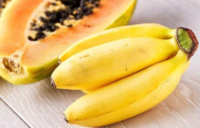 banane papaye