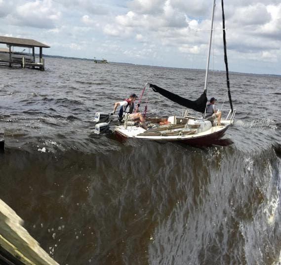 bateau echouer