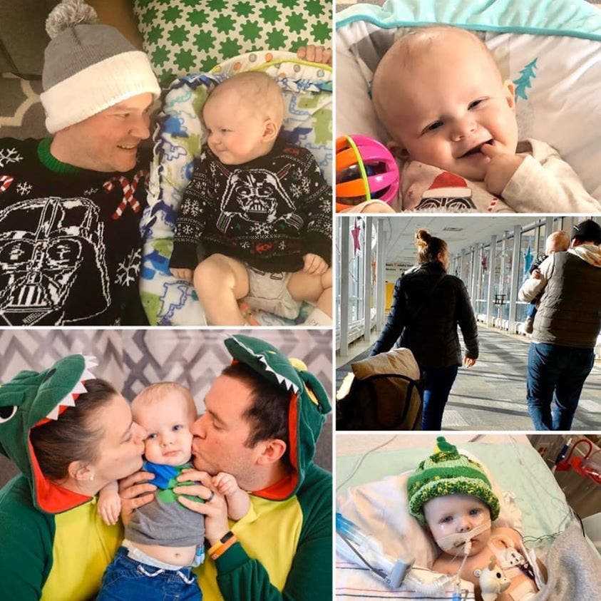 Un bébé mourant à qui il reste quelques semaines à vivre veut réaliser tous ses rêves - envoyons-lui nos prières