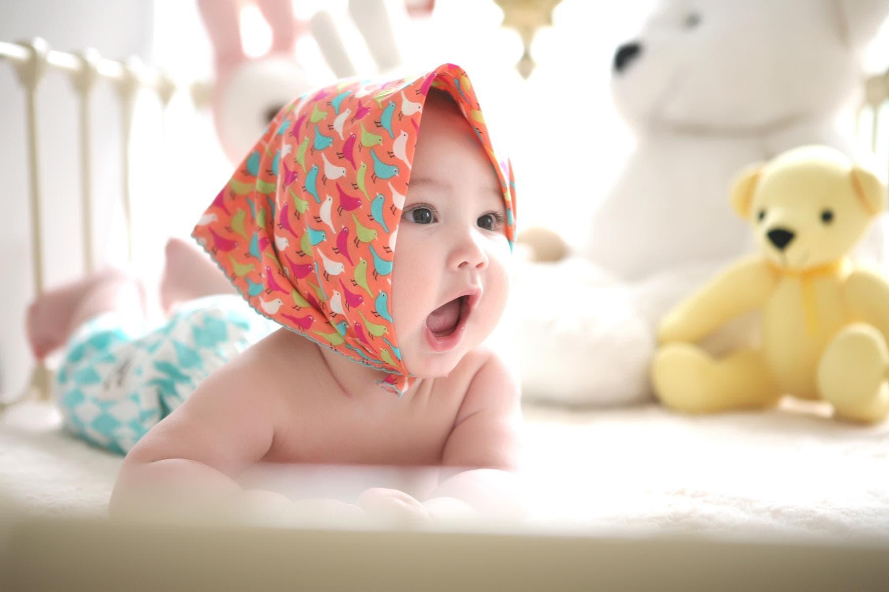 bebe et doudou