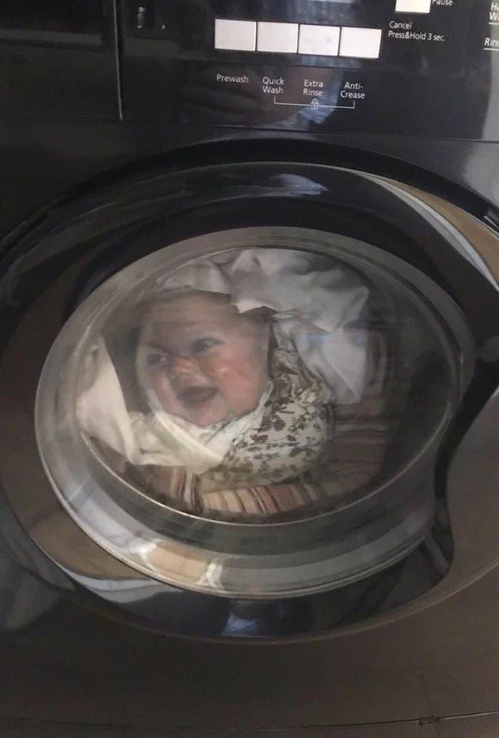 bébé machine à laver